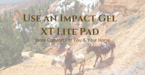 Impact Gel XT Lite Saddle Pad