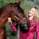 Charmayne James and her horse