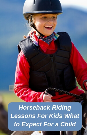 Horseback Riding Lessons For Kids